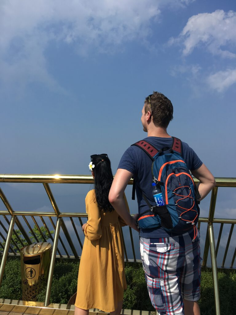 Vašek na Golden Bridge