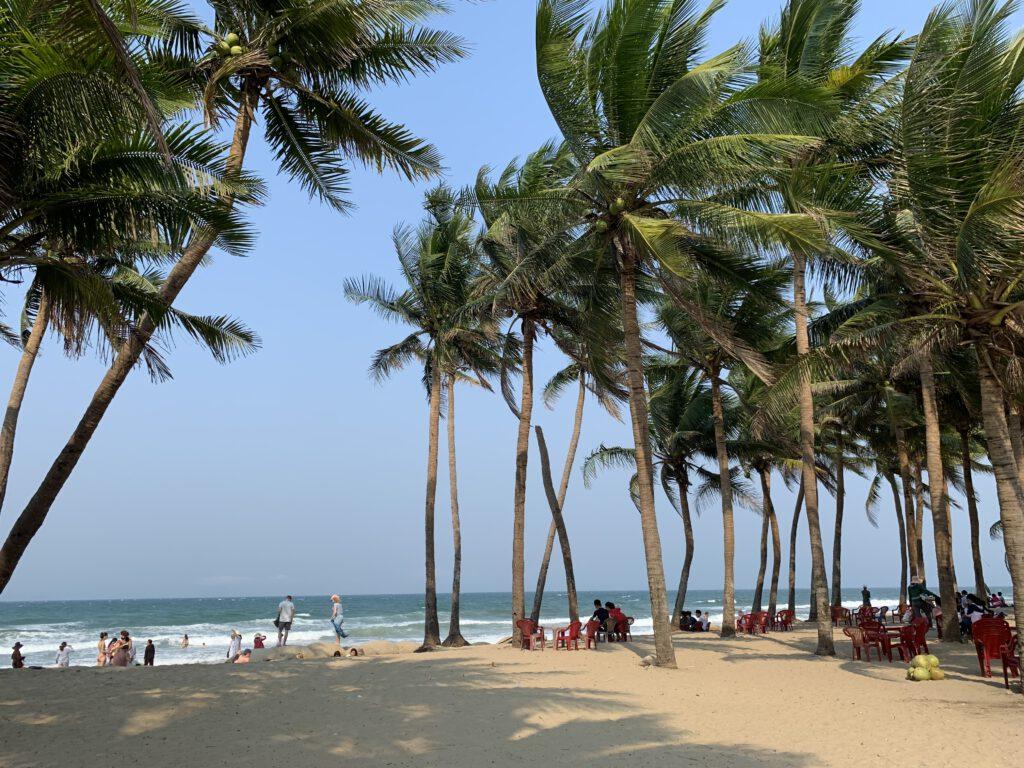 Pláž v Hoi An