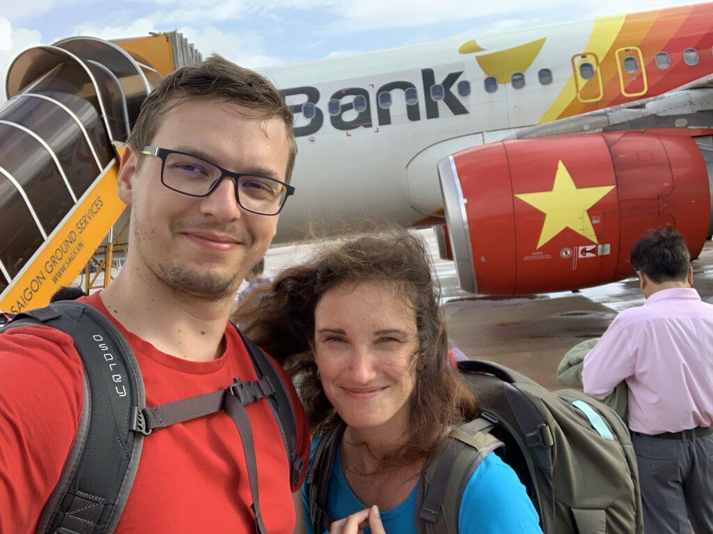 U letadla