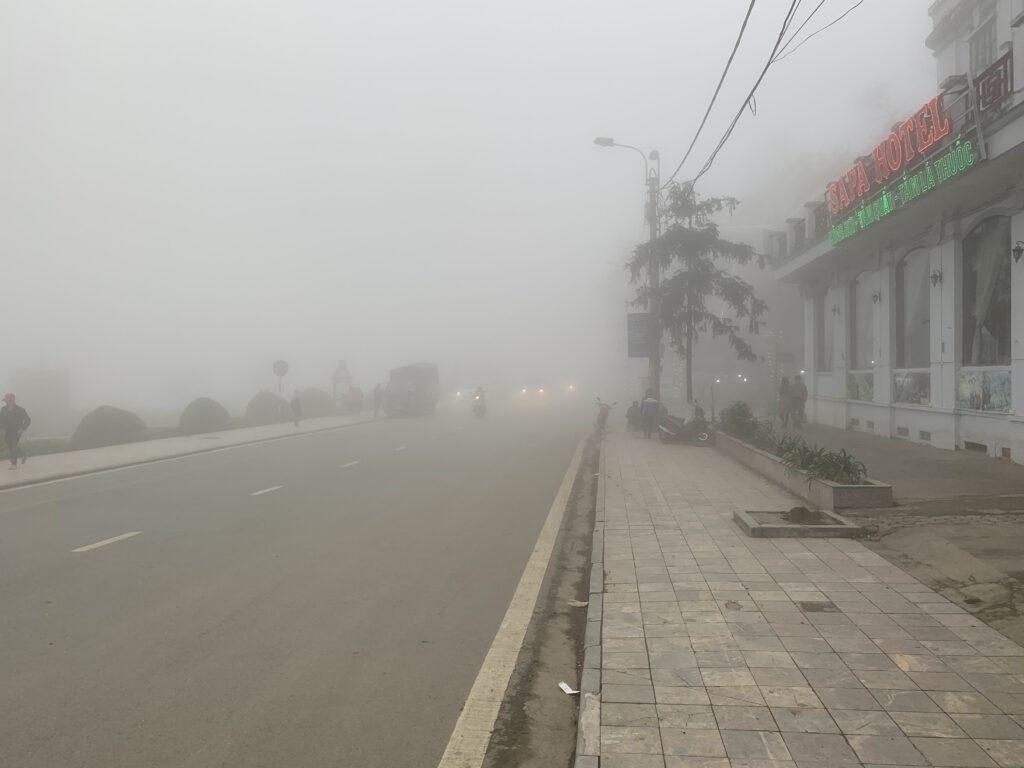 Mlha na Sapě