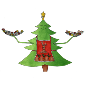 Ilustrace Vánoce